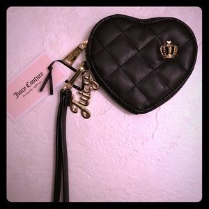 ❗️NEW❗️Juicy couture crowned heart coin wristlet